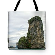 Canoeing The Thailand Scarps Tote Bag