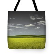 Canola Hills And Dales Tote Bag