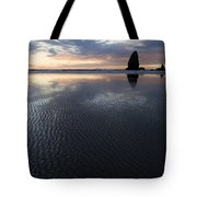Canon Beach At Sunset 6 Tote Bag
