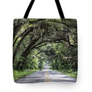 Canopied Street Tote Bag
