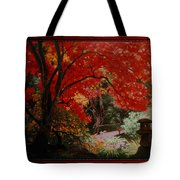 Canopy Of Red Tote Bag
