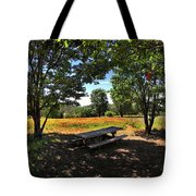 Canopy Of Shade Tote Bag
