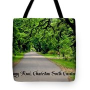 Canopy Road Tote Bag
