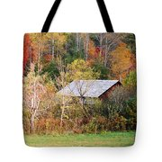 Cantilever Barn - Autumn Tote Bag