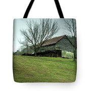 Cantilever Barn Sevier County Tennessee Tote Bag
