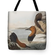 Canvas Backed Duck Tote Bag