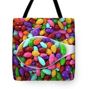 Candy Covered Sunflower Seeds Tote Bag