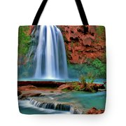 Canyon Falls Tote Bag by Scott Mahon