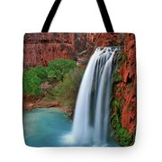 Canyon Falls Vertical Tote Bag