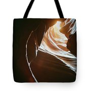 Canyon Flares Tote Bag