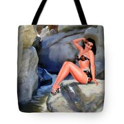 Canyon Girl Tote Bag