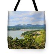 Canyon Lake Dam Tote Bag