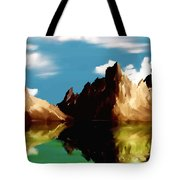 Canyon Lake Tote Bag