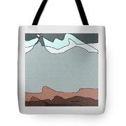 Canyon Land Tote Bag