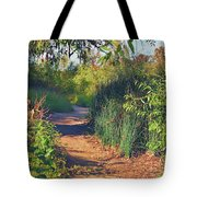 Canyon Path II Tote Bag