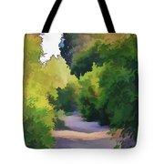 Canyon Path IIi Painterly Tote Bag