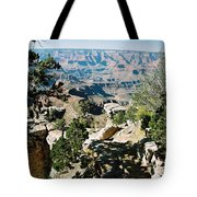 Canyon Shadows Tote Bag