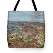 Canyon View From Navajo Point Tote Bag