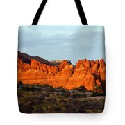 Canyonlands At Sunset Tote Bag
