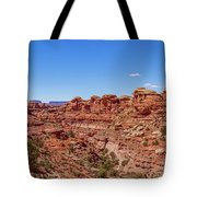 Canyonlands National Park - Big Spring Canyon Overlook Tote Bag