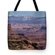 Canyons Of Dead Horse State Park Tote Bag