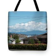 Cap Sante And Chuckanut Tote Bag