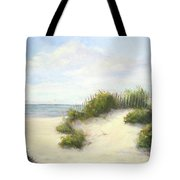 Cape Afternoon Tote Bag by Vikki Bouffard