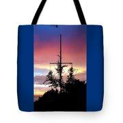 Cape Ann Sunset Silhouettes Tote Bag