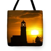 Cape Blanco Lighthouse Sunset 2 Tote Bag