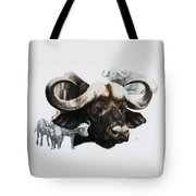 Cape Buffalo Tote Bag
