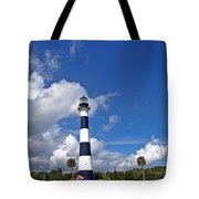 Cape Canaveral Light In Florida Tote Bag