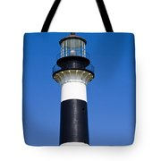 Cape Canaveral Lighthouse On The East Coast Of Florida Tote Bag