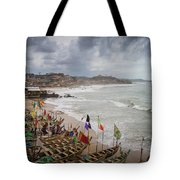 Cape Coast Fishing Village Tote Bag