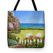 Cape Cod Cottage Tote Bag