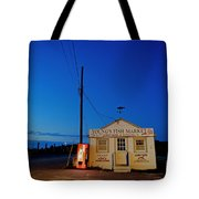 Cape Cod Fish Market Tote Bag