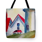 Cape Cod Light House Tote Bag