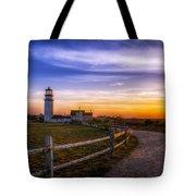 Cape Cod Light Tote Bag by Mark Papke