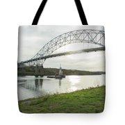 Cape Cod Sagamore Bridge Series #3 Tote Bag