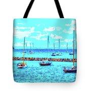 Cape Cod - Sailing Mecca Tote Bag