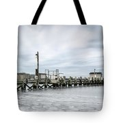 Cape Cod Winter Tote Bag