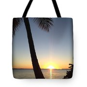 Cape Coral Winter Sunset  Tote Bag
