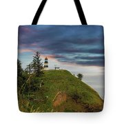 Cape Disappointment After Sunset Tote Bag