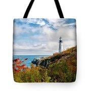 Cape Elizabeth Maine - Portland Head Lighthouse Tote Bag