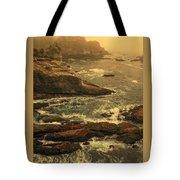 Cape Flattery Misty Morning - Washington Tote Bag