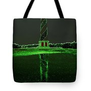 Cape Hatteras Lighthouse Green 6 21216 Tote Bag