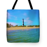 Cape Lookout 1 Tote Bag by Betsy Knapp