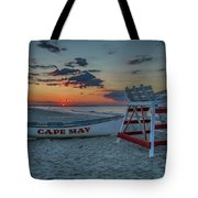 Cape May At Sunrise - Cape May New Jersey Tote Bag