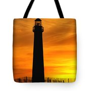 Cape May Light Sunset Tote Bag