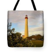 Cape May Lighthouse In Spring Tote Bag