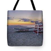 Cape May Mornings Tote Bag